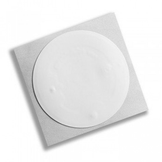 100 x  compatible 13.56mhz stickers 27mm circular
