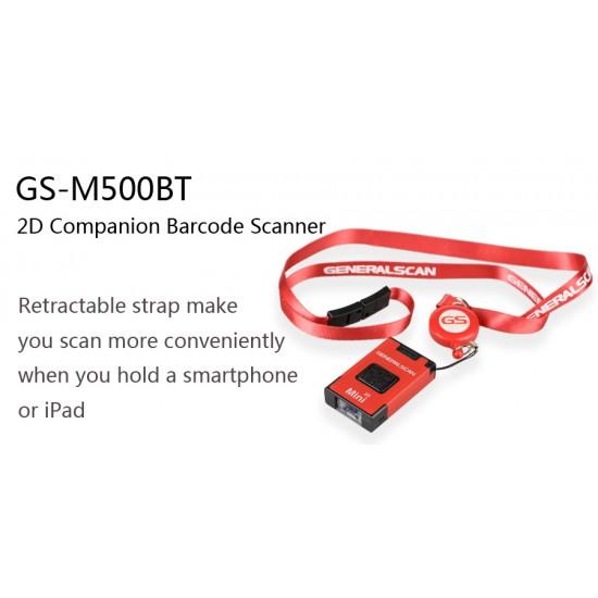 2D GS-M500BT Bluetooth Companion Barcode Scanner