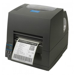 Citizen CL-S621 Desktop Barcode Label Printer (Grey)