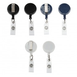 ID Badge Reels with Strap Clip