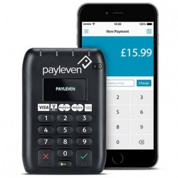 Payleven 5060350030213 - CHIP/PIN /CONTACTLESS EMV PCI SECURE APPLE , IOS , ANDROID