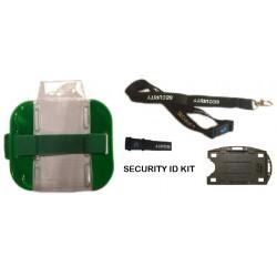 Security Armband Kit - Green