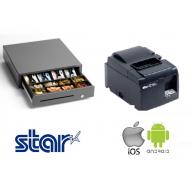 Star Ethernet printer & Cash Drawer Bundle
