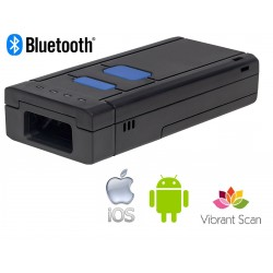 Vibrant Scan Pocket 2 2d portable bluetooth scanner for android and IOS devices.