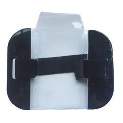 Black High Visibility ID Armband