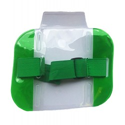 Green High Visibility ID Armband