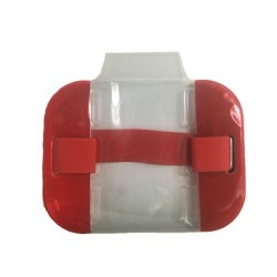 Red High Visibility ID Armband