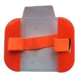 Orange High Visibility ID Armband