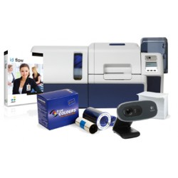 IN-A-BOX, ID BADGE PRINTING, HIGH VOLUME, ZEBRA ZXP SERIES 8, LOGITECH WEBCAM, JOLLY ID FLOW SOFTARE