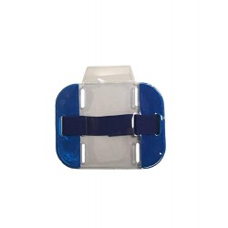 Blue High Visibility ID Armband