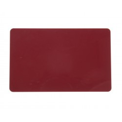 Burgundy PVC Cr80 Cards - 100 pack