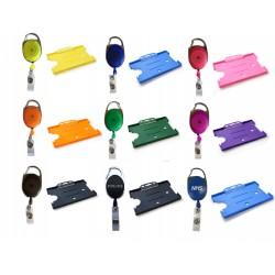 Combo Badge Reel & Single Card Holder Kits