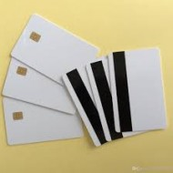 100 x SLE4442 with magstripe Secure Memory Smart Card White PVC Card (comparible )