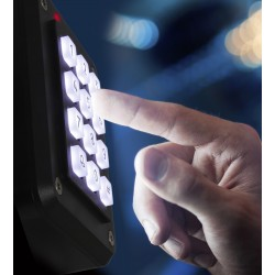 DS402KW20 iCLASS Illuminated Keypad + Contactless Reader