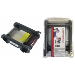 Compatible Ribbon For Evolis Primacy, Elypso, Zenius Card Printers YMCKO 300 Image