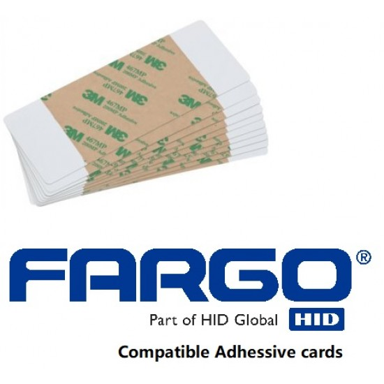20 Pack Fargo Compatible Adhessive Cleaning Cards