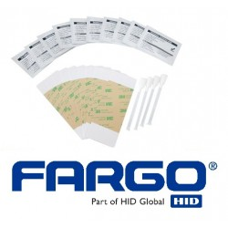 HID Fargo Cleaning Kit for DTC1000, DTC4000, DTC150, DTC4250, C50, DTC425E,