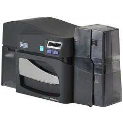 FARGO DTC4500E SINGLE SIDED PLASTIC CARD PRINTER WITH USB AND ETHERNET CONNECTIVITY - 55000