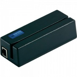 JC-1290M6U-21 1290 Magnetic Stripe Reader - Multi-Interface - Black