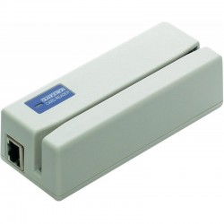 JC-1290M6U-01 1290 Magnetic Stripe Reader - Multi-Interface - White