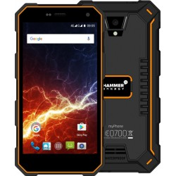 "MyPhone Hammer Energy Rugged 5"" HD Smartphone - Black/Orange"