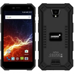 "MyPhone Hammer Energy Rugged 5"" HD Smartphone - Black"