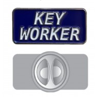 Key Worker Pin Badge