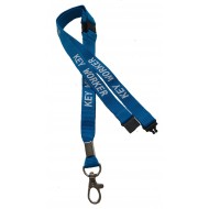 Key Worker Lanyard With 3 Point Breakaway