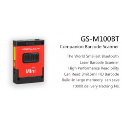 General Scan GS M100BT 1D Laser Mini Barcode Scanner