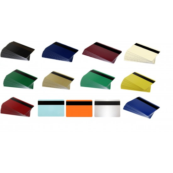 Colour Mag Strip Cards (Pack of 100)