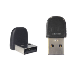 RDR-6011AKU pcProx Enroll Black Vertical USB Nano Reader