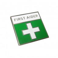First Aid Pin Badge