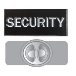 Security Badge Pin