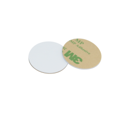 10 X 30mm GK4100 125Khz Reader Only PVC Disc Tag With 3M Glue