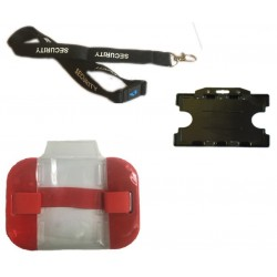 Security Armband Kit - Red