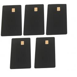10 x Black Sle4442 Cards
