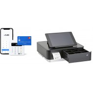 SumUP Card Reader & Star MPOP Printer & Cash Drawer -  Black