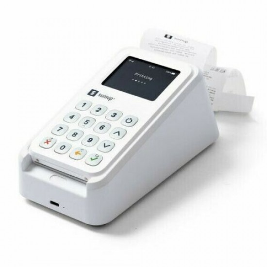Sumup 3g Card Reader With Integrated Printer