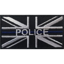 Police Printed Thin Blue Line Patch