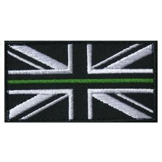 Thin Green Line VELCRO® Backed Patch