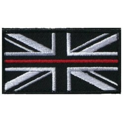 Thin Red Line VELCRO® Backed Patch