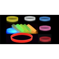 Adult Glow In The Dark Colour Wristbands