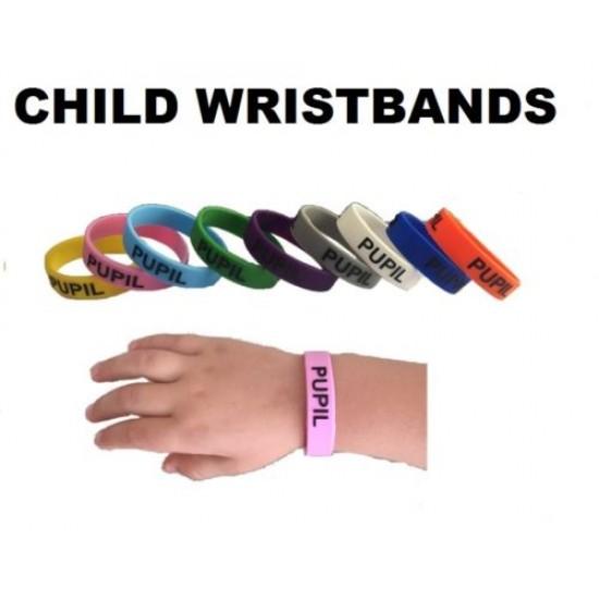 Child Pupil Silcone Wristbands
