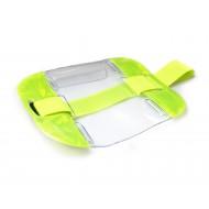 Yellow High Visibility ID Armband