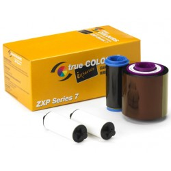 ZEBRA ZXP SERIES 7 YMCKO RIBBON 800077-740 - 250 PRINTS [R-Z-800077-740EM]